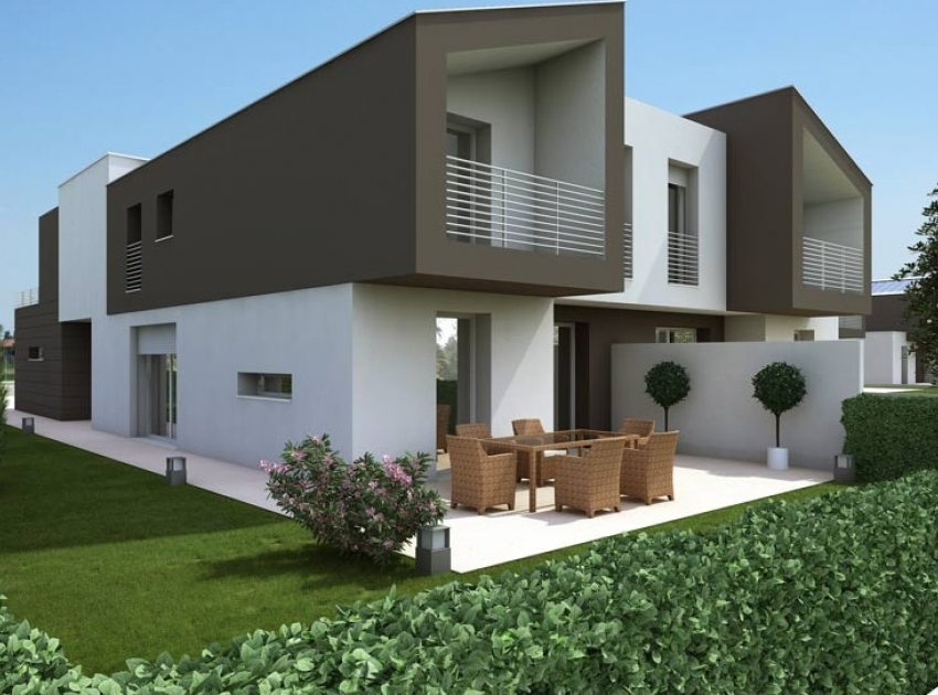 Agenzia immobiliare a fidenza vendita immobili usati e for Villette moderne progetti