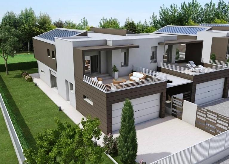 Agenzia immobiliare a fidenza vendita immobili usati e for Prospetti di villette
