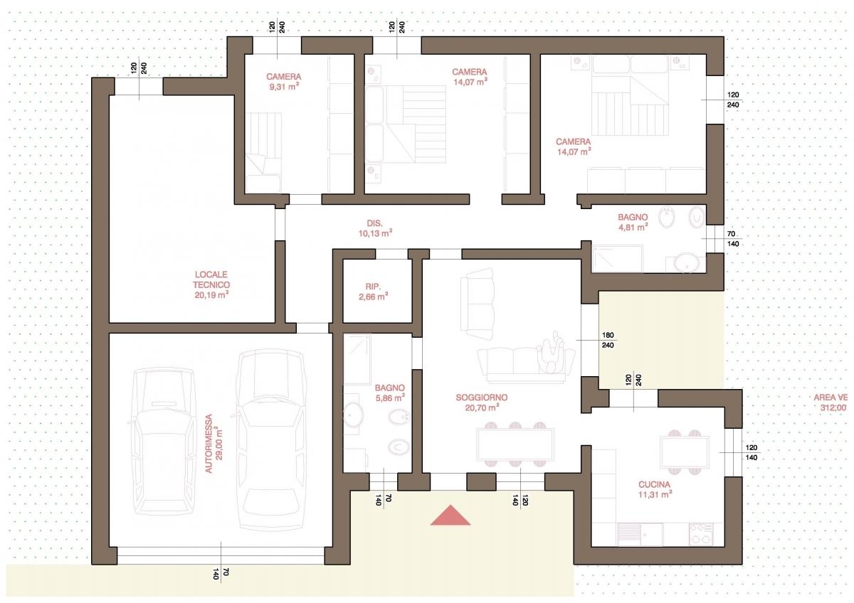 Agenzia immobiliare a fidenza vendita immobili usati e for Disegni di case in vendita