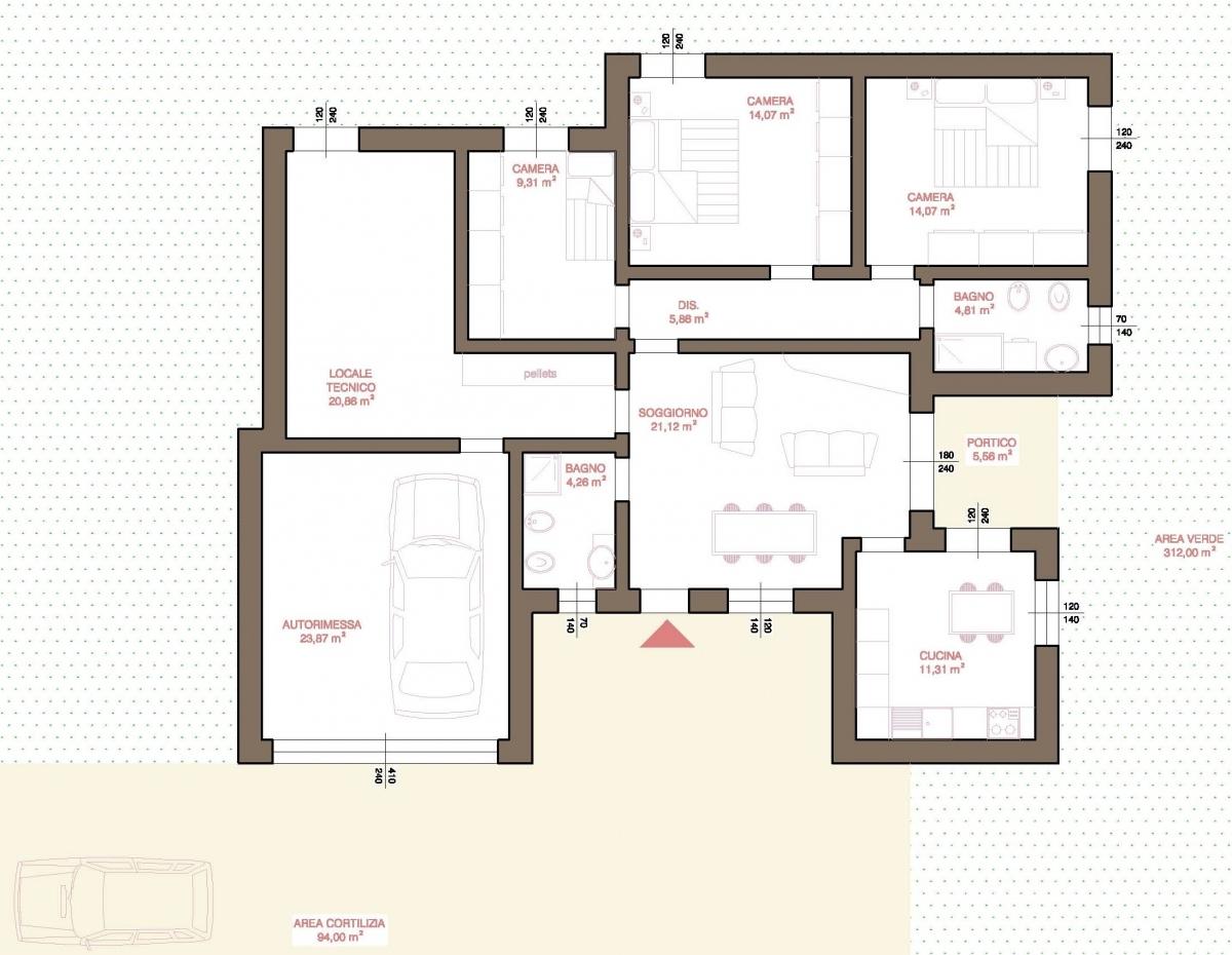 Agenzia immobiliare a fidenza vendita immobili usati e for Case di livello tri